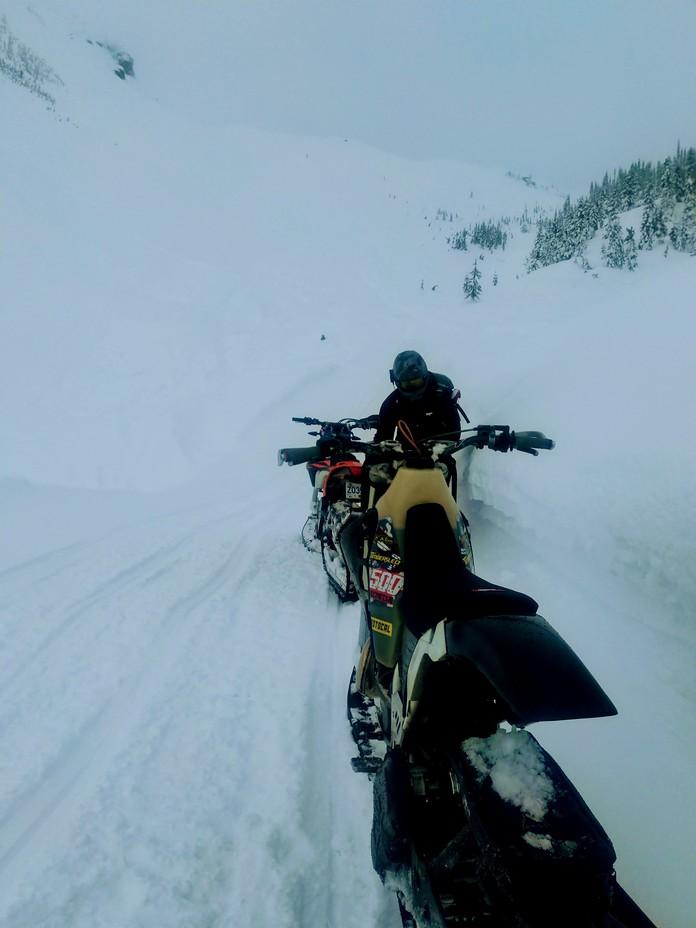 avalanche alley, Brandywine Mountain