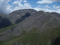 Puigmal from Pic de Finestrelles photo