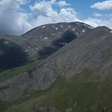 Puigmal from Pic de Finestrelles