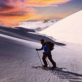 Suset colors, Mount Olympus