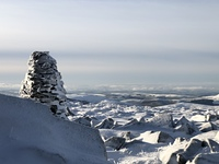 Bizzle Cragg up on to West Hill, The Cheviot photo