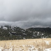 Snow - November 2019 near Figueroa Mtn., Figueroa Mountain