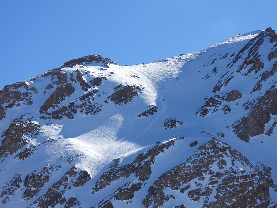Coming down mountaineers By Saeed Tayarani from Chal Kabood, San-Boran