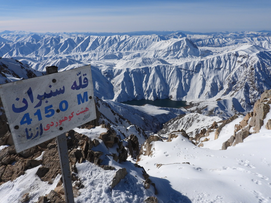 San boran peak and Gahar Lake By Saeed Tayarani, San-Boran