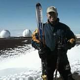 Skiing Mauna Kea