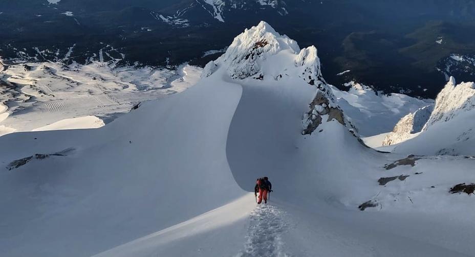Slow Climb, Mount Hood
