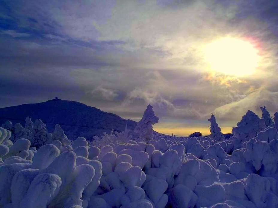Kraina sniegu., Snezka or Sněžka