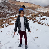 Snow in Saudi Arabia in January 2020, Jabal al-Lawz