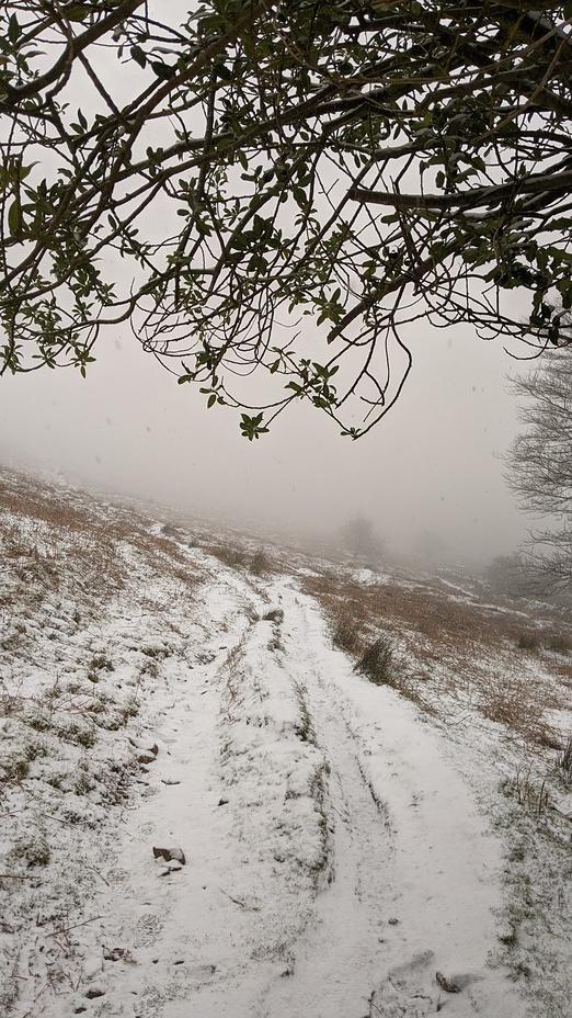 Blorenge in winter, The Blorenge