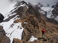 Cima nevada, Cerro Stepanek photo