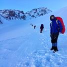مسیر صعود به قله سن بران