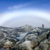 Fog rainbow, Mount Monadnock