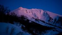 Dawn of Mt. Oputateshike, Mount Oputateshike photo