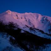 Dawn of Mt. Oputateshike, Mount Oputateshike
