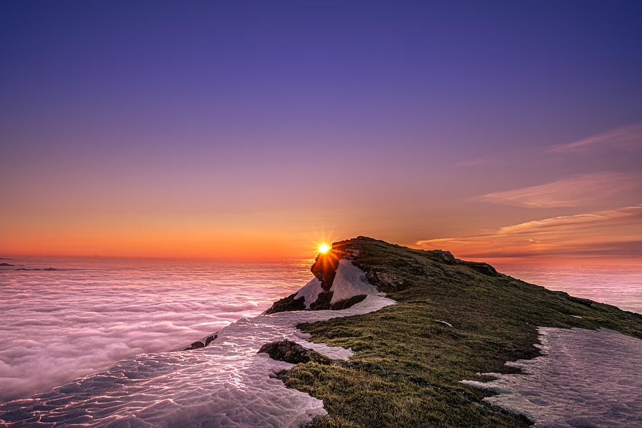 Ben Lomond Summit Sunrise