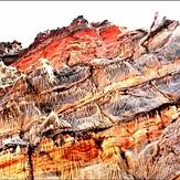 Jashk salty mountain, تفتان