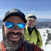 Just us, Camels Hump