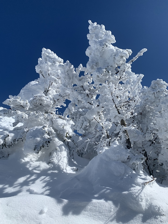 Ice castle, Camels Hump