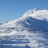 East ridge of Meall Fuar-mhonaidh