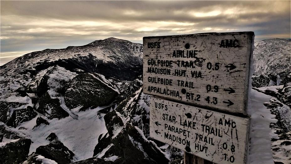 Winter Adams 2021, Mount Adams