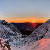 Tuckerman's Ravine - Left Gully - Sunrise, Mount Washington (New Hampshire)