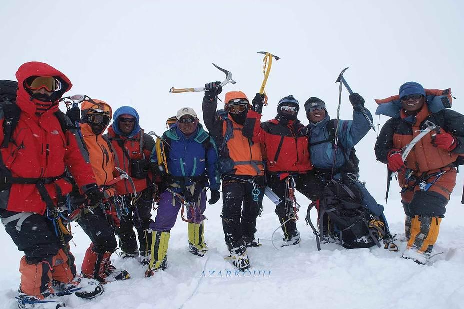 summit, Pumori