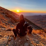 Sunrise with the ghost, Telescope Peak