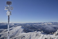 View from Ciucas peak, Ciucaş Peak photo