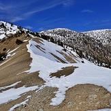 West Baldy & Baldy Spring Melt fm 9000', Mount Baldy (San Gabriel Range)