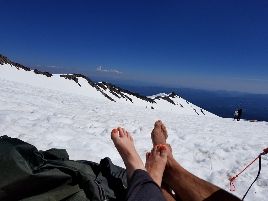 Great weather in mid June 2017, Mount Shasta