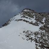Eastbound ridge, Grotto Mountain