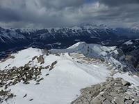 Grotto ridge facing east, Grotto Mountain photo