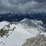 Grotto ridge facing east, Grotto Mountain