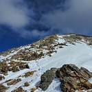 Ridge facing eastward