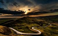 The Serpentine Road, Mam Tor photo