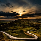The Serpentine Road, Mam Tor