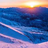 Dawn of Mt. Tomuraushi, Mount Tomuraushi (Daisetsuzan)