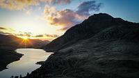 Tryfan sunrise photo