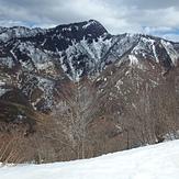 West Face of Mt. Kanmuri, Mount Kanmuri (Gifu, Fukui)