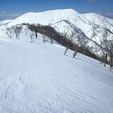 Mt. Nogohaku from Mae-yama, Mount Nōgōhaku