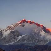Eversts at sunset., Mount Everest
