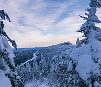 Long Trail on Mount Mansfield, March 2021 photo