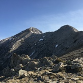 Messinian side of the summit, Taygetos