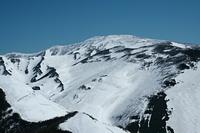 雪の砂漠 月山(西斜面), Iwaki photo