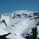 雪の砂漠 月山(西斜面), Iwaki