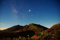 月光照らす間ノ岳, Kita Dake photo