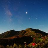 月光照らす間ノ岳, Kita Dake