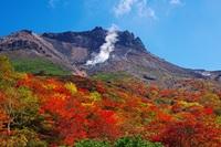 紅葉の那須岳(姥ケ平), Nasu photo
