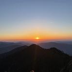 Mt. LeConte Sunset, Mount LeConte