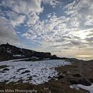 Snow on the top of Cadir Idris